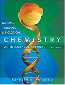General, Organic, and Biological Chemistry – Kenneth Raymond – 2nd Edition