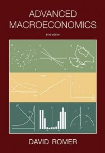 Advanced Macroeconomics – David Romer – 3rd Edition