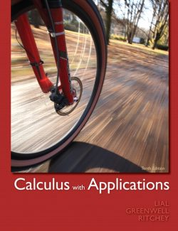 Calculus with Applications - Lial, Greenwell, Ritchey - 10th Edition 22