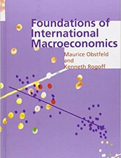 Foundations of International Macroeconomics – Maurice Obstfeld – 1st Edition