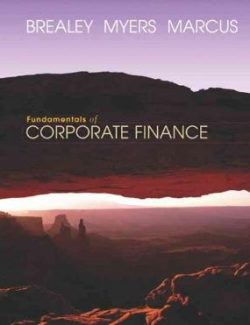 Fundamentals of Corporate Finance – Richard A. Brealey – 4th Edition