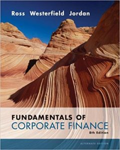 Fundamentals of Corporate Finance – Stephen Ross – 8th Edition