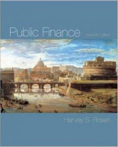 Public Finance – Harvey S. Rosen – 7th Edition