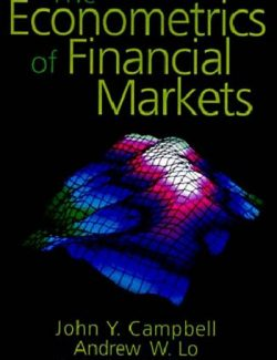 The Econometrics of Financial Markets – John Y. Campbell – 1st Edition