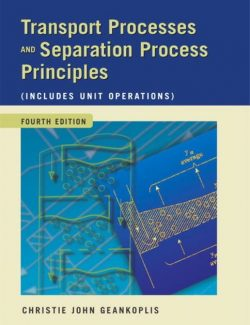 Transport Processes and Separation Process Principles - C. J. Geankopolis - 4th Edition 34