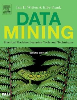 Data Mining – Ian H. Witten, Frank Eibe – 2nd Edition