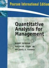 Quantitative Analysis for Management - Barry Render - 10th Edition 77