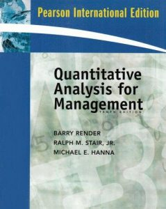 Quantitative Analysis for Management - Barry Render - 10th Edition 21