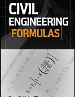 Civil Engineering Formulas – Tyler G. Hicks – 2nd Edition