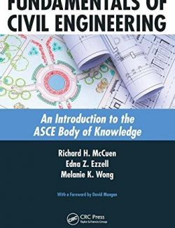 Fundamentals of Civil Engineering – McCuen, Ezzell, Wong – 1st Edition