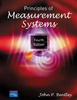 Principles of Measurement Systems – John P. Bentley – 4th Edition