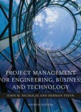Project Management for Engineering - J. Nicholas - 4th Edition 81
