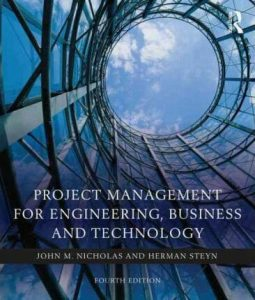 Project Management for Engineering - J. Nicholas - 4th Edition 21