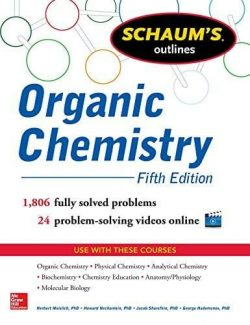Schaum's Outline of Organic Chemistry – Herbert Meislich – 4th Edition