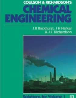 Chemical Engineering Vol.1 – Coulson & Richardson's – 6th Edition