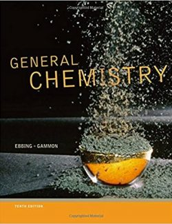 General Chemistry – Darrell Ebbing, Steven D. Gammon – 10th Edition