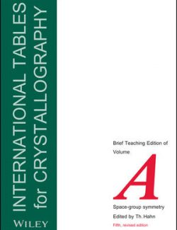 International Tables For Crystallography Vol. A - Space Group Symmetry - 5th Edition 22