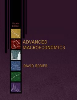 Advanced Macroeconomics – David Romer – 4th Edition