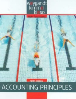 Accounting Principles – Donald E. Kieso – 9th Edition