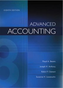 Advanced Accounting - Floyd A. Beams, Joseph H. Anthony - 8th Edition 24