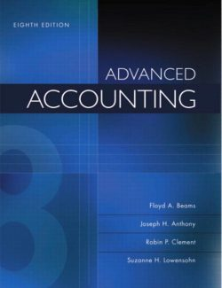 Advanced Accounting – Floyd A. Beams, Joseph H. Anthony – 8th Edition