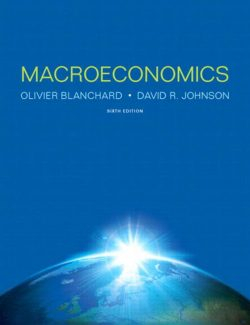Macroeconomics – Blanchard & Johnson – 6th Edition