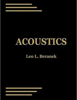 Acoustic Measurement – Leo L. Beranek – 1st Edition