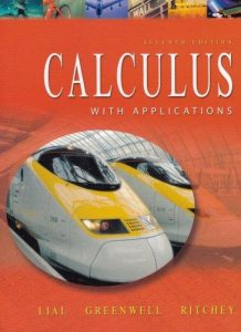 Calculus with Applications – Lial, Greenwell, Ritchey – 8th Edition