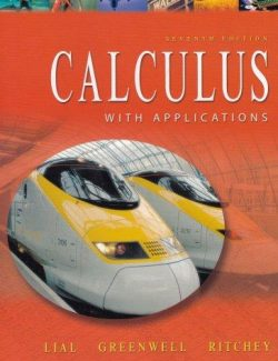 Calculus with Applications - Lial, Greenwell, Ritchey - 8th Edition 21