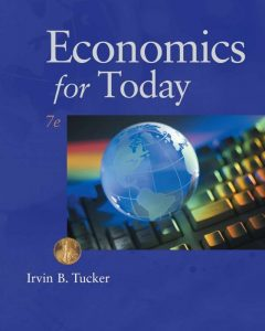 Economics for Today – Irvin B. Tucker – 7th Edition