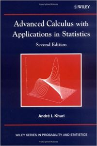 Advanced Calculus with Applications in Statistics – André I. Khuri – 2nd Edition