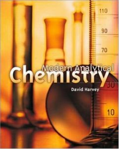 Modern Analytical Chemistry – David Harvey – 1st Edition