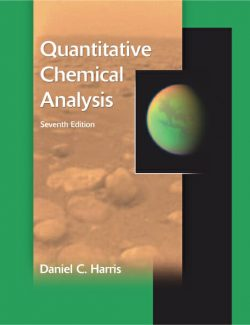 Quantitative Chemical Analysis – Daniel C. Harris – 7th Edition