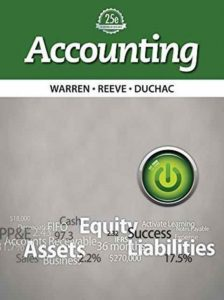 Accounting - Carl S. Warren, James M. Reeve, Jonathan Duchac - 25th Edition 22