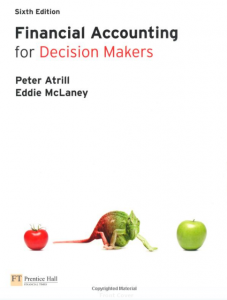 Financial Accounting for Decision Makers – Atrill & McLaney – 6th Edition