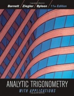 Analytic Trigonometry with Applications - Raymond A. Barnett - 11th Edition 22