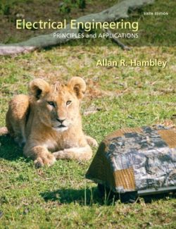 Electrical Engineering: Principles and Applications – Allan R. Hambley – 6th Edition