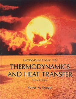 Introduction to Thermodynamics and Heat Transfer – Yunus A. Cengel – 2nd Edition