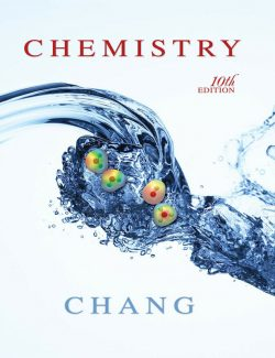 Chemistry- Raymond Chang – 10th Edition