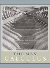 Thomas' Calculus Part 1 (Single Variable) - George Thoma's - 11th Edition 93