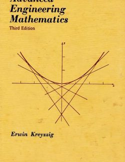 Advanced Engineering Mathematics Vol.2 – Erwin Kreyszig – 3rd Edition