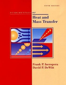Introduction to Heat Transfer – Frank P. Incropera – 5th Edition