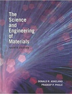 The Science and Engineering of Materials – Donald R. Askeland – 4th Edition