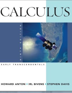 Calculus Early Transcendentals - Howard Anton, Irl Bivens, Stephen Davis - 9th Edition 29