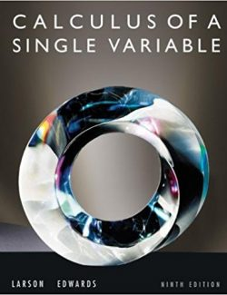 Calculus of a Single Variable – Ron Larson, Bruce H. Edwards – 9th Edition