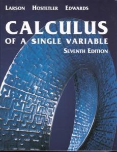 Calculus of a Single Variable – Ron Larson – 7th Edition