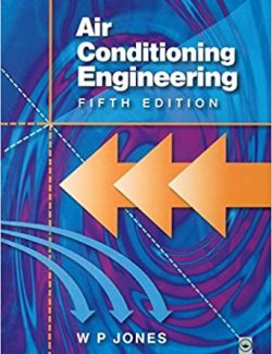 Air Conditioning Engineering – W. P. Jones – 5th Edition