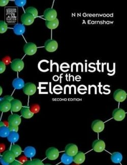 Chemistry of Elements – N. N. Greenwood, A. Earnshaw – 2nd Edition