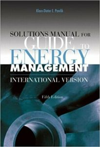 Guide to Energy Management – Klaus-Dieter Pawlik – 5th Edition