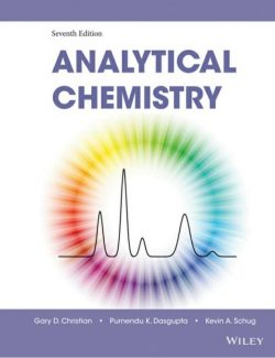 Analytical Chemistry – Gary D. Christian – 7th Edition